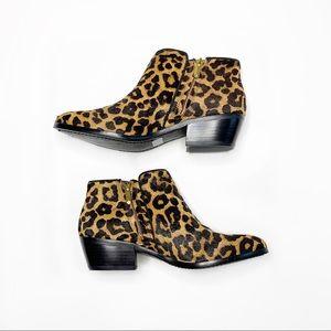 Sam Edelman   Calf Hair Leopard Petty Booties   7